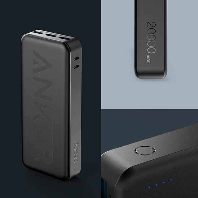 orefolder.netAnker、2つの入力ポートと3つの出力ポートを持った第2世代超大容量モバイルバッテリー「Anker PowerCore II 20000」を販売開始