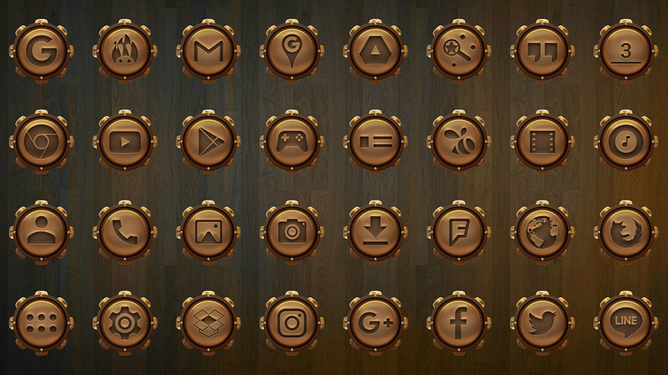 Raid gold naked icon pack latest version apk