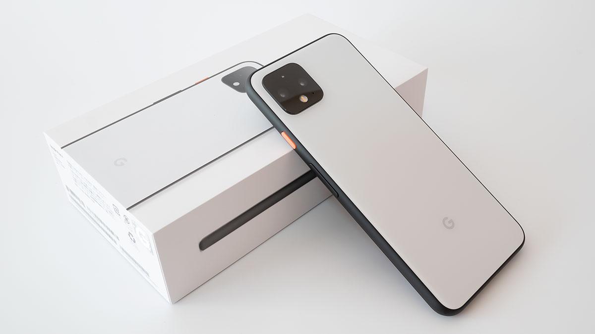 Pixel 4 開封の儀 つや消し黒と上品な白が気持ちいい これがgoogleの